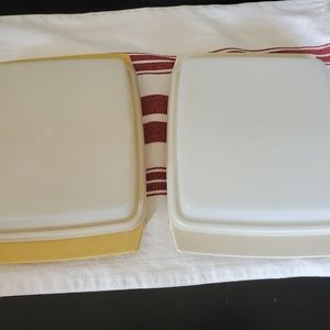 Tupperware egg containers
